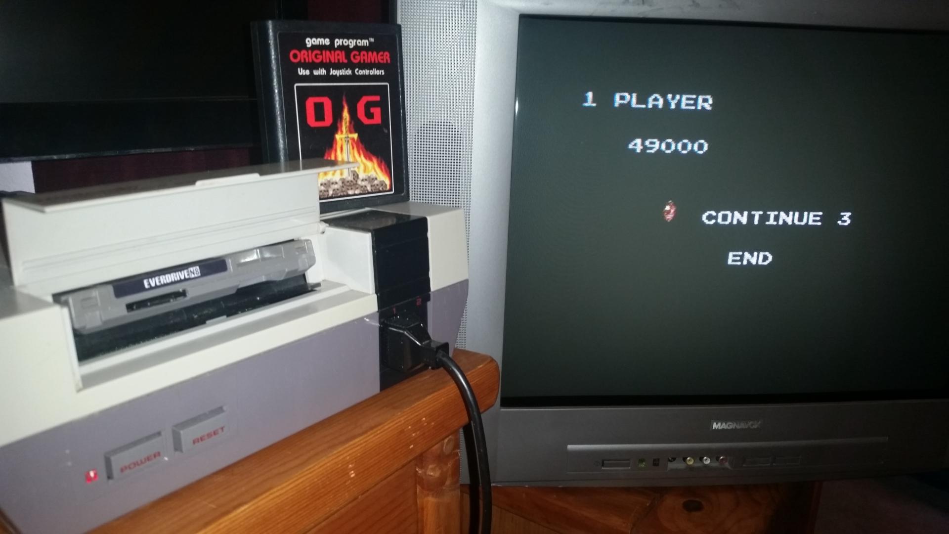 OriginalGamer: Crisis Force [Japanese] (NES/Famicom) 49,000 points on 2016-08-24 03:33:54