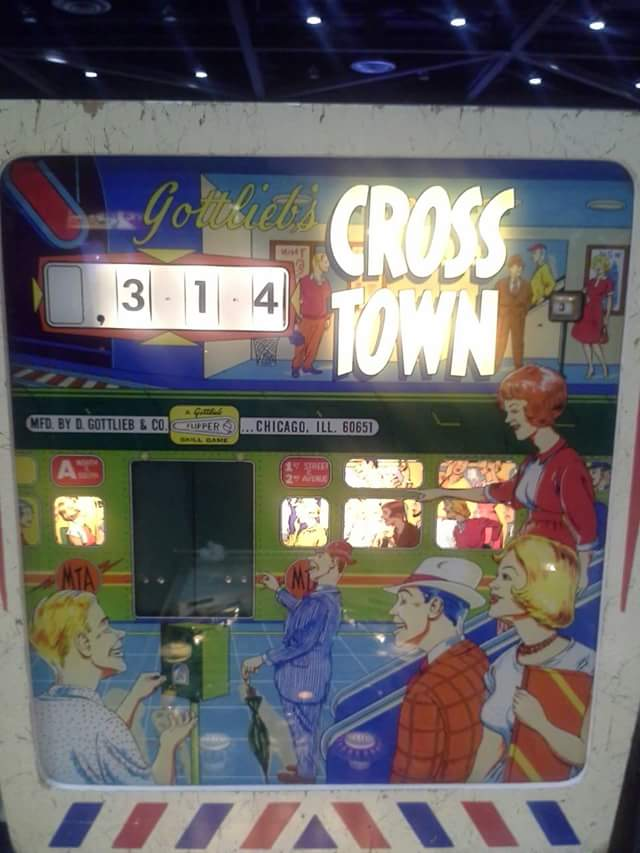 Cross Town [Gottlieb] 314 points
