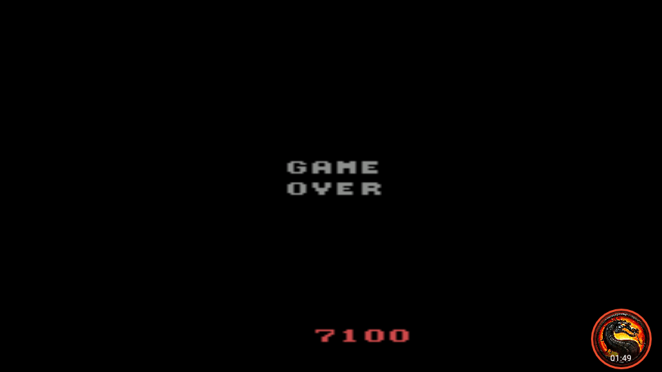omargeddon: Crossbow (Atari 2600 Emulated Novice/B Mode) 7,100 points on 2020-10-15 11:10:54