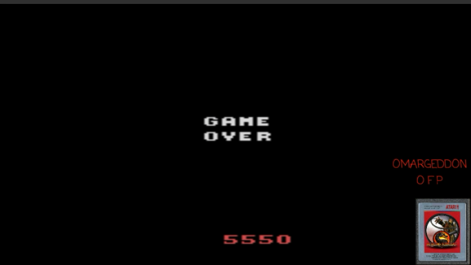 omargeddon: Crossbow (Atari 2600 Emulated Novice/B Mode) 5,550 points on 2017-04-14 15:57:02