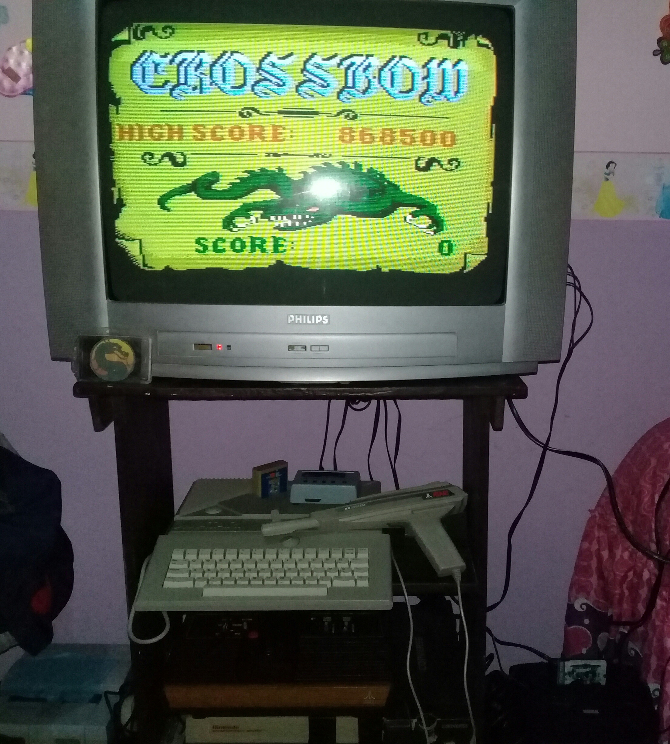 omargeddon: Crossbow (Atari 400/800/XL/XE) 868,500 points on 2020-02-11 18:19:48