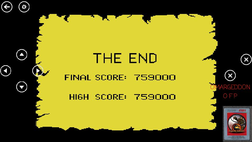 omargeddon: Crossbow (Atari 7800 Emulated) 759,000 points on 2017-04-14 19:34:17