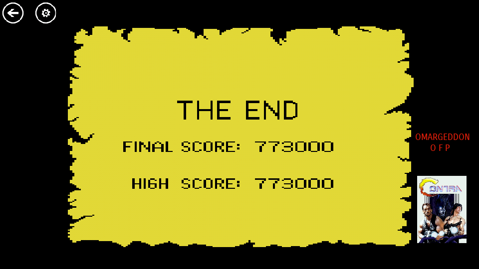 omargeddon: Crossbow (Atari 7800 Emulated) 773,000 points on 2017-09-15 22:41:10