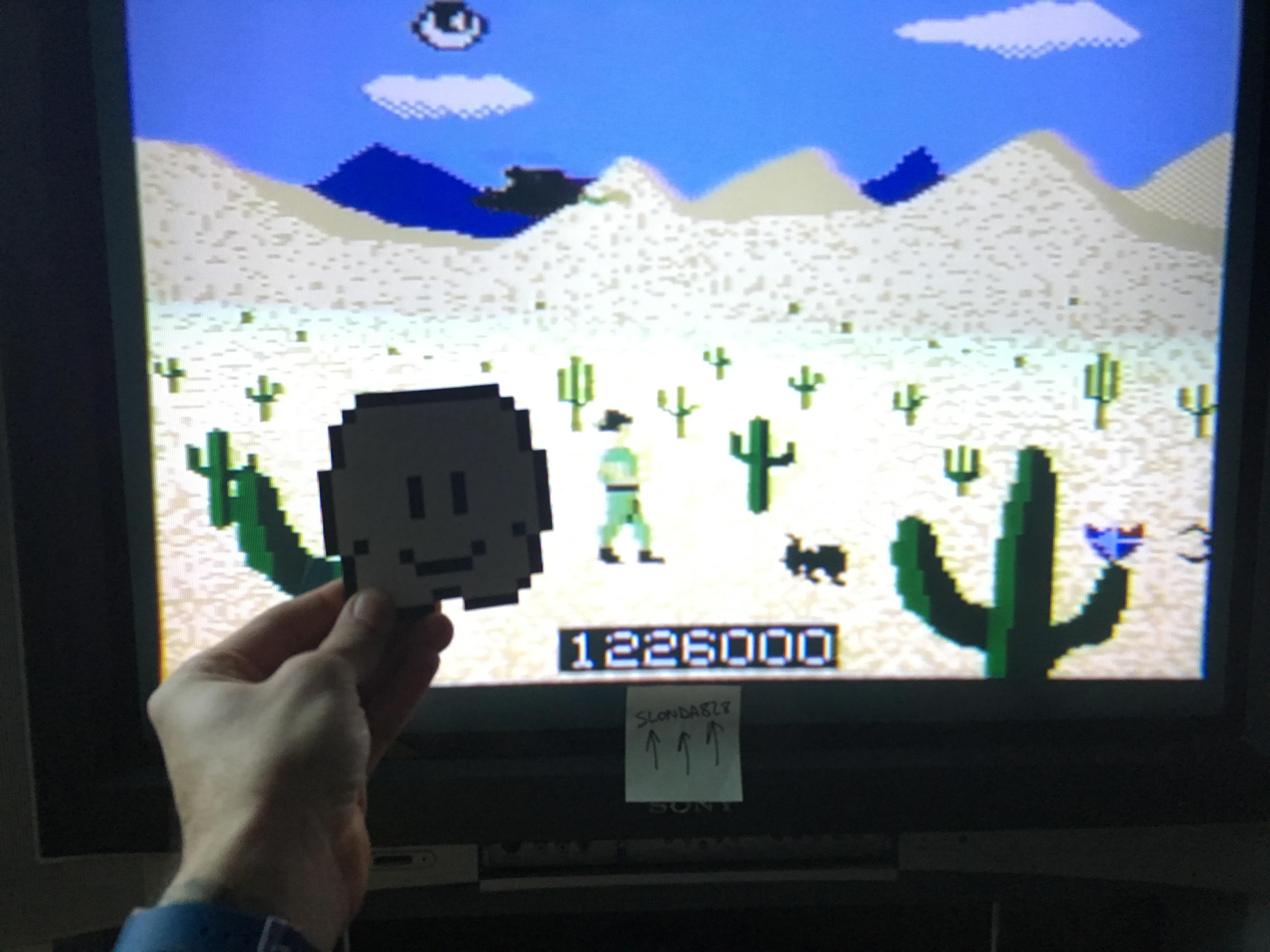 slonda828: Crossbow (Atari 7800) 1,226,000 points on 2019-01-17 16:54:01