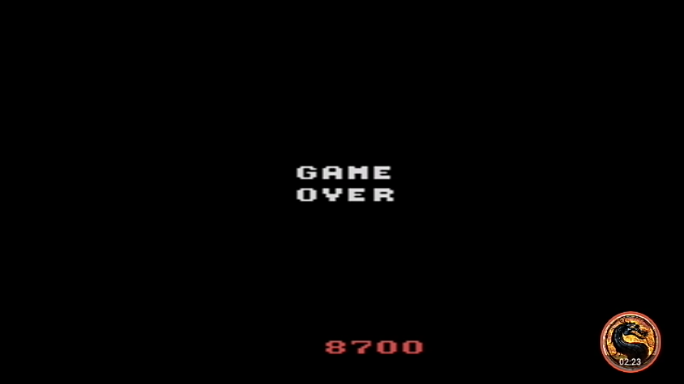 omargeddon: Crossbow [Game 3] (Atari 2600 Emulated Expert/A Mode) 8,700 points on 2019-05-05 12:37:43