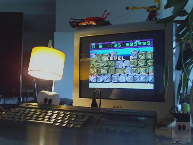 GTibel: Crossfire [Atlantis Software] (ZX Spectrum) 999,999 points on 2019-08-03 04:29:53