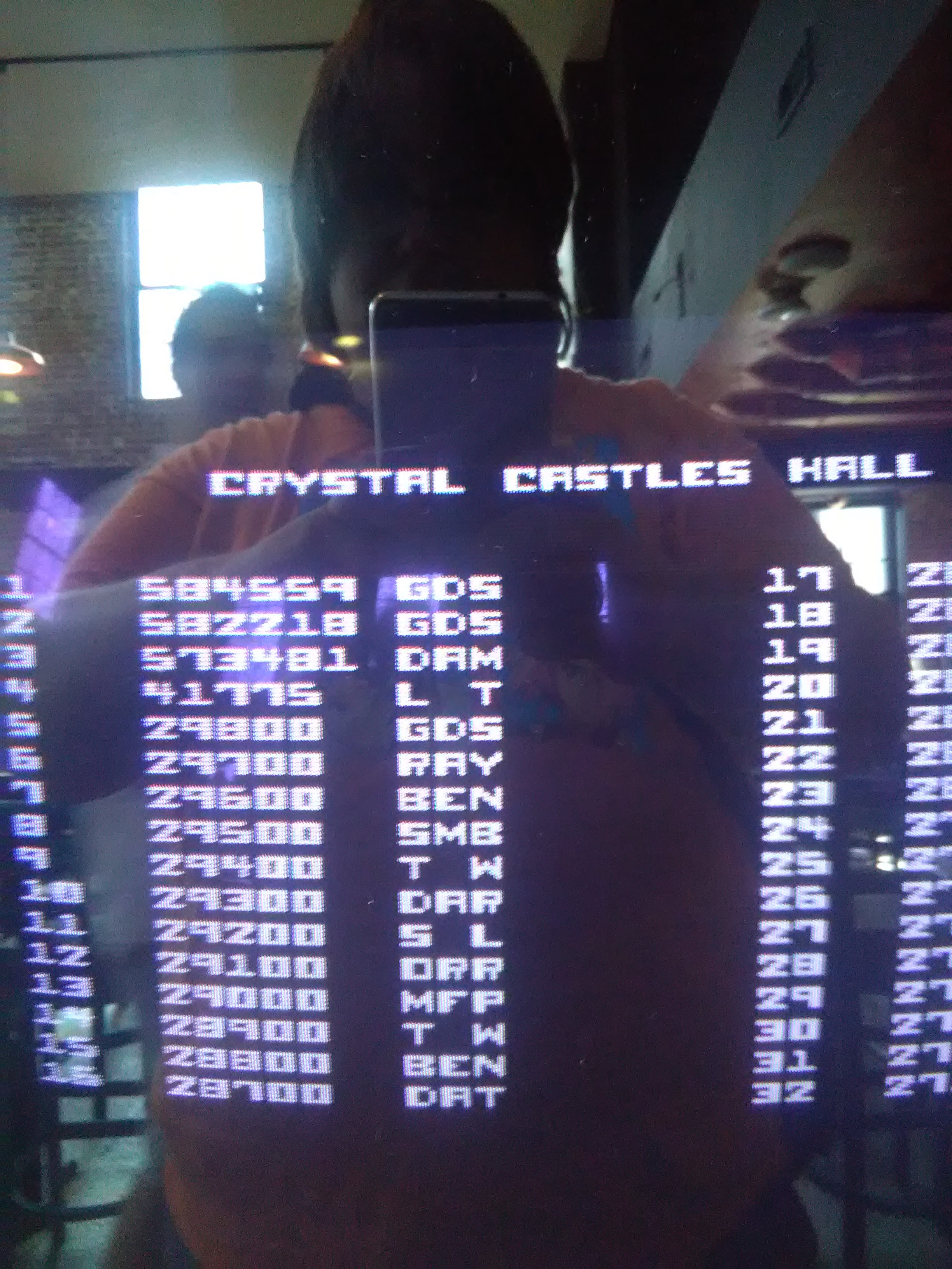 LarcenTyler: Crystal Castles (Arcade) 41,775 points on 2016-07-22 18:32:11