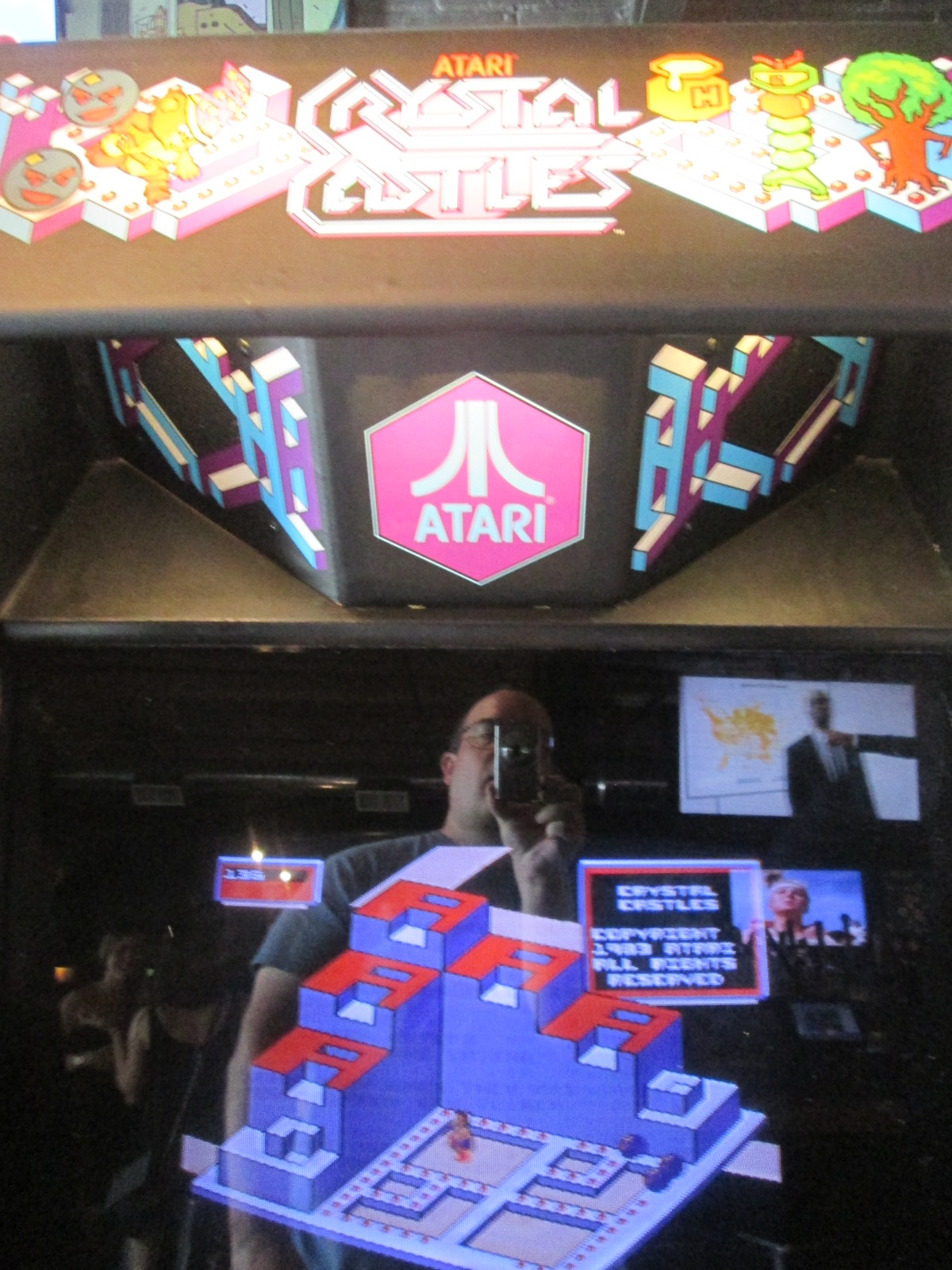 ed1475: Crystal Castles (Arcade) 12,319 points on 2016-08-28 16:04:39