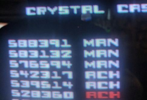 Nevin: Crystal Castles (Arcade) 588,391 points on 2019-05-27 16:37:41