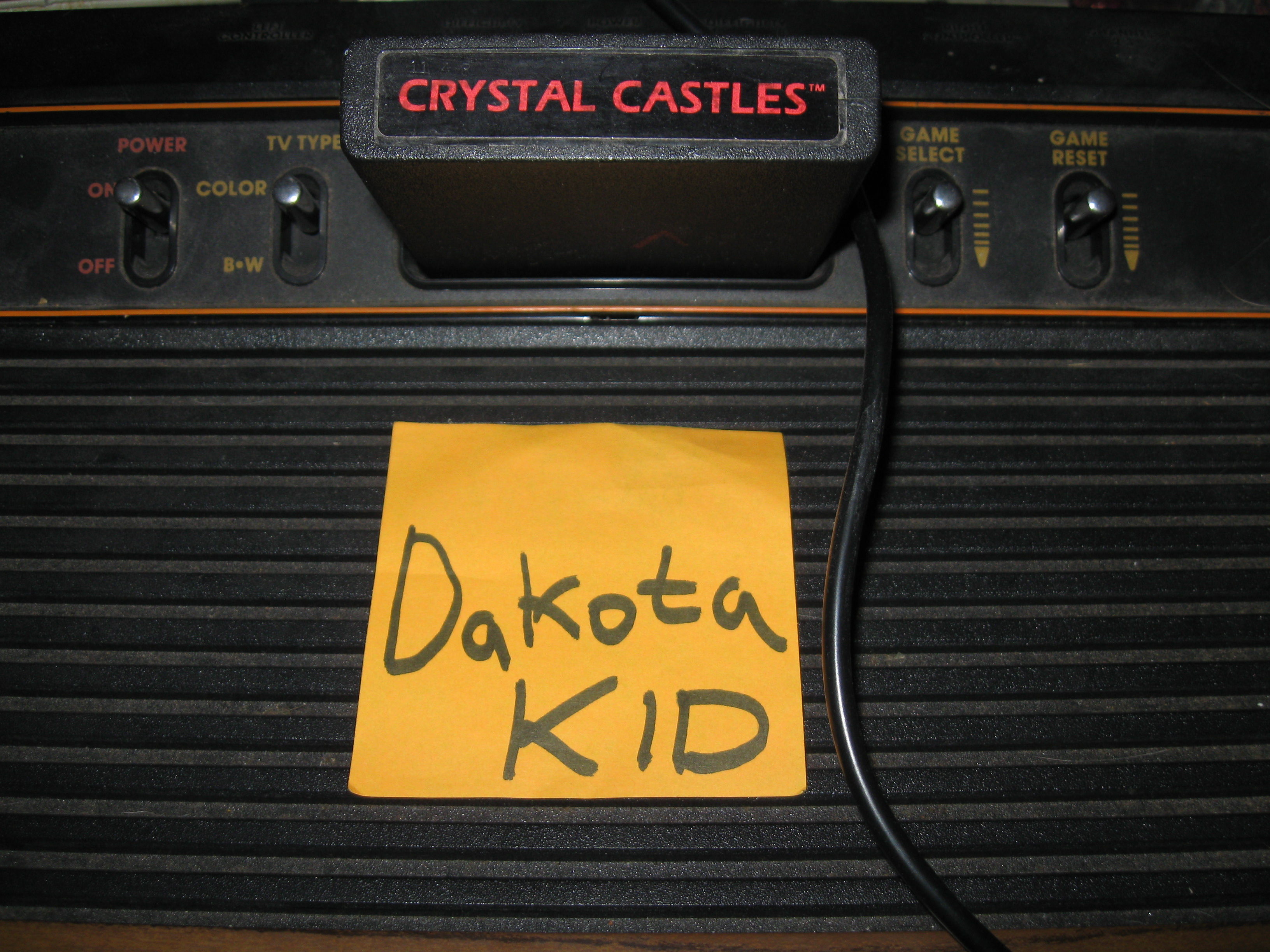 DakotaKid: Crystal Castles (Atari 2600 Novice/B) 148,734 points on 2016-02-21 11:23:42