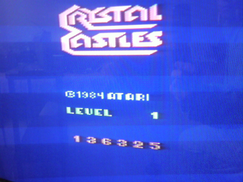 Crystal Castles 136,325 points