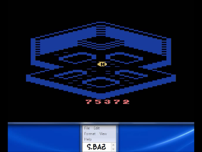 S.BAZ: Crystal Castles (Atari 2600 Emulated Novice/B Mode) 75,372 points on 2017-07-08 10:21:20