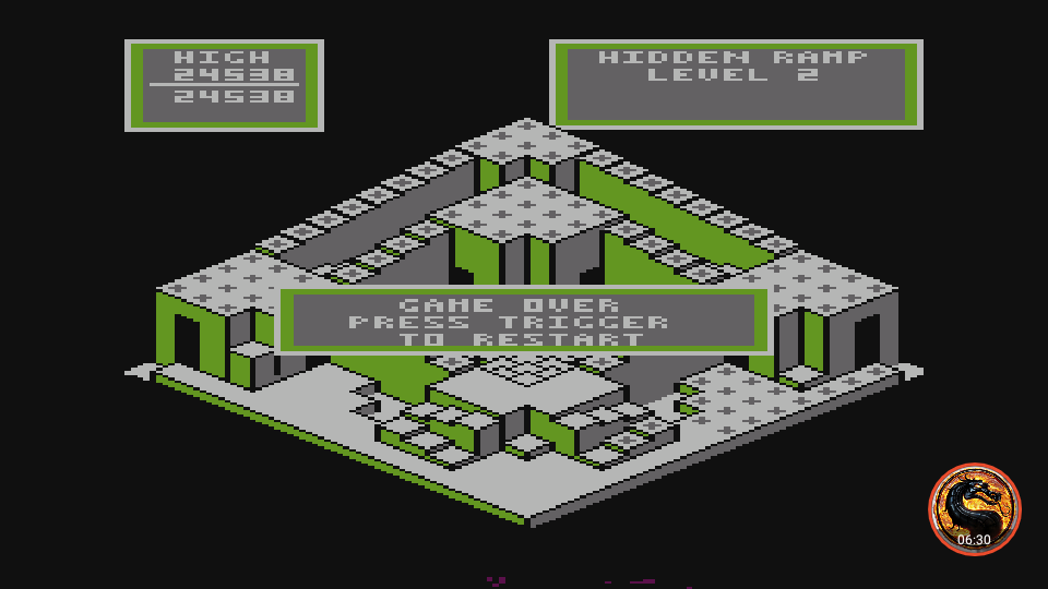 omargeddon: Crystal Castles (Atari 400/800/XL/XE Emulated) 24,538 points on 2019-02-27 08:59:53