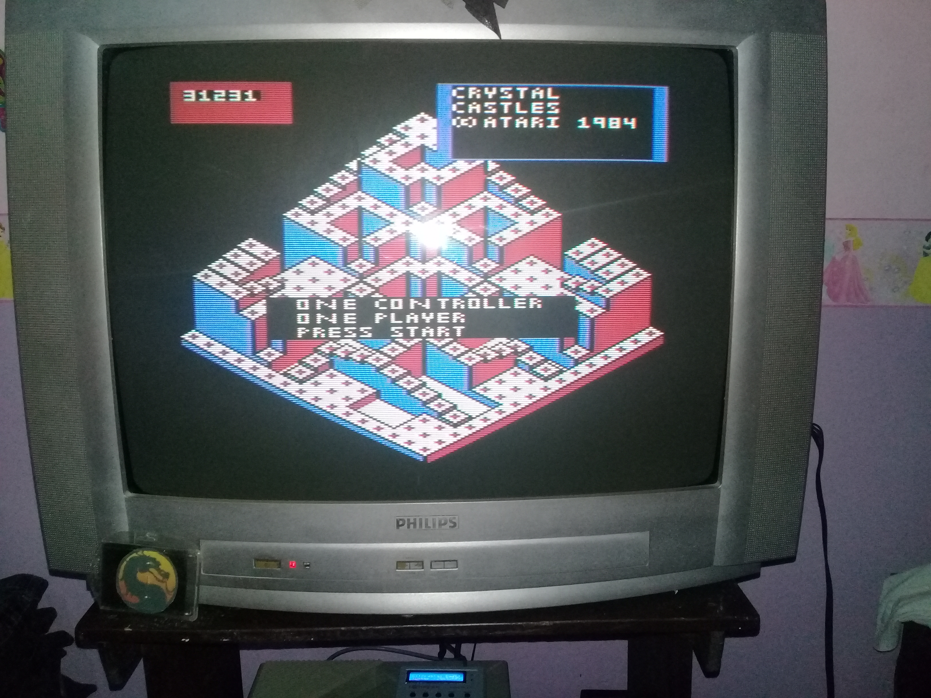 omargeddon: Crystal Castles (Atari 400/800/XL/XE) 31,231 points on 2020-03-10 21:19:04