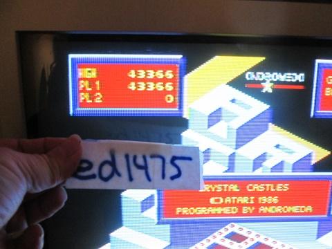 ed1475: Crystal Castles (Atari ST) 43,366 points on 2017-11-22 14:30:05