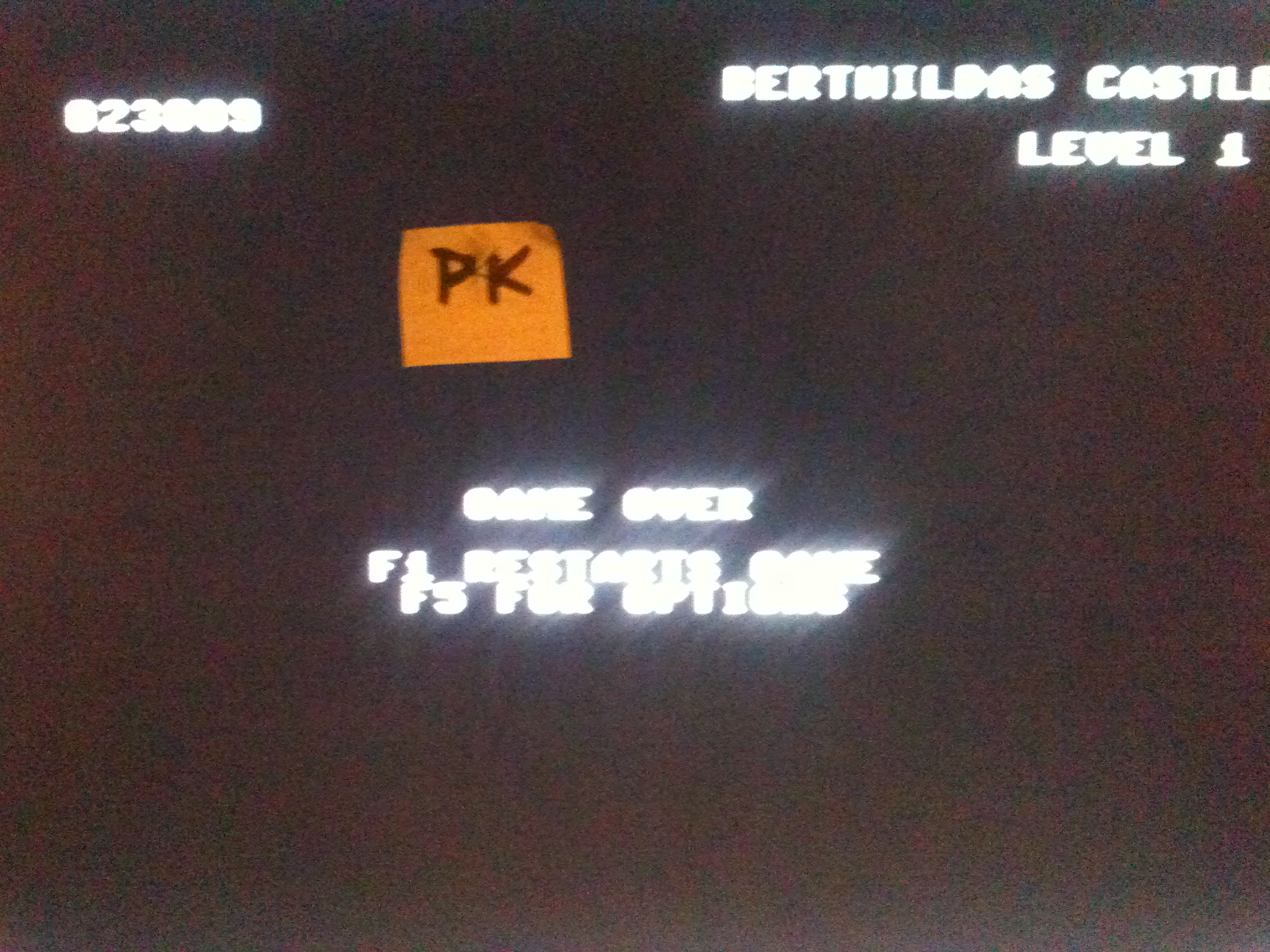 kernzy: Crystal Castles [US Gold/Atari] [Medium] (Commodore 64) 23,009 points on 2015-12-13 15:18:47