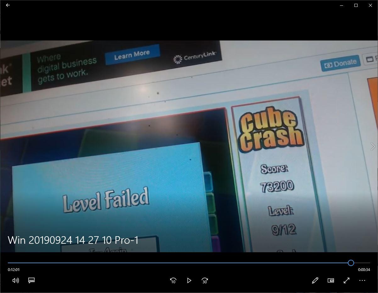 speedy4759123: Cube Crash (Web) 73,200 points on 2019-09-24 14:32:10