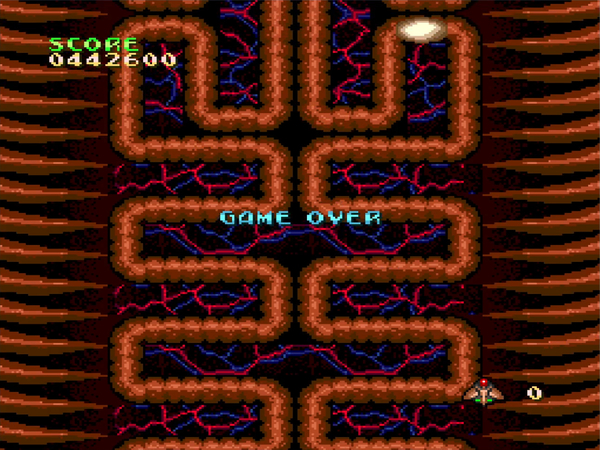 Mantalow: Cyber-Core (TurboGrafx-16/PC Engine Emulated) 442,600 points on 2015-06-17 10:21:42