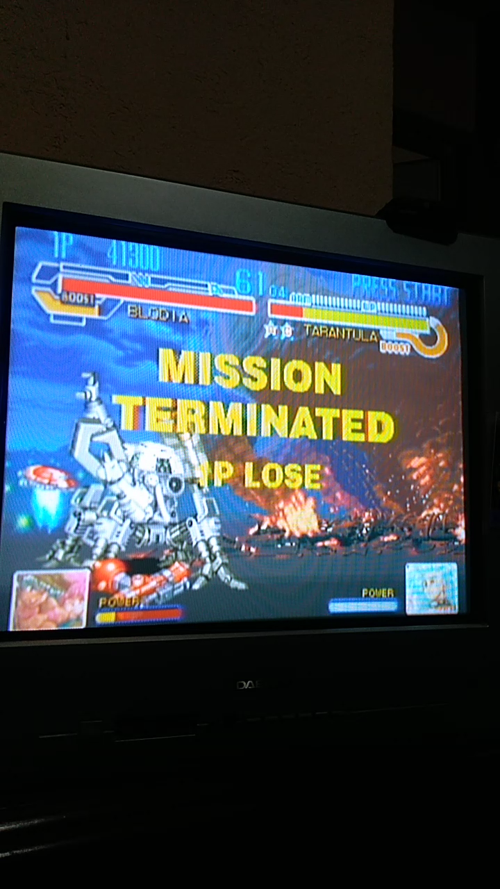 Sdrgio797: Cyberbots: Fullmetal Madness [cybots] (Arcade Emulated / M.A.M.E.) 41,300 points on 2020-08-05 20:13:54