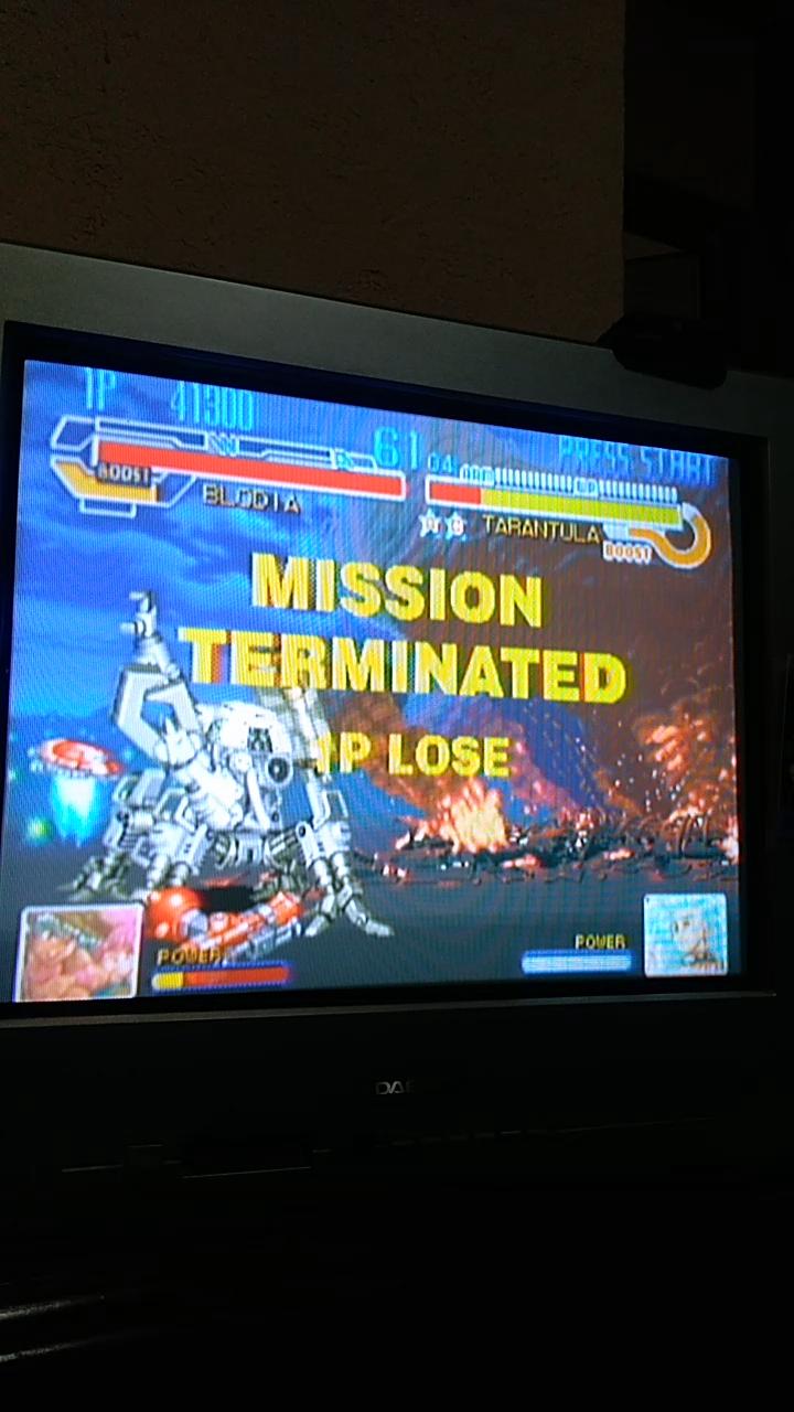 Sdrgio797: Cyberbots: Fullmetal Madness [cybotsu] (Arcade Emulated / M.A.M.E.) 41,300 points on 2020-08-05 12:27:00
