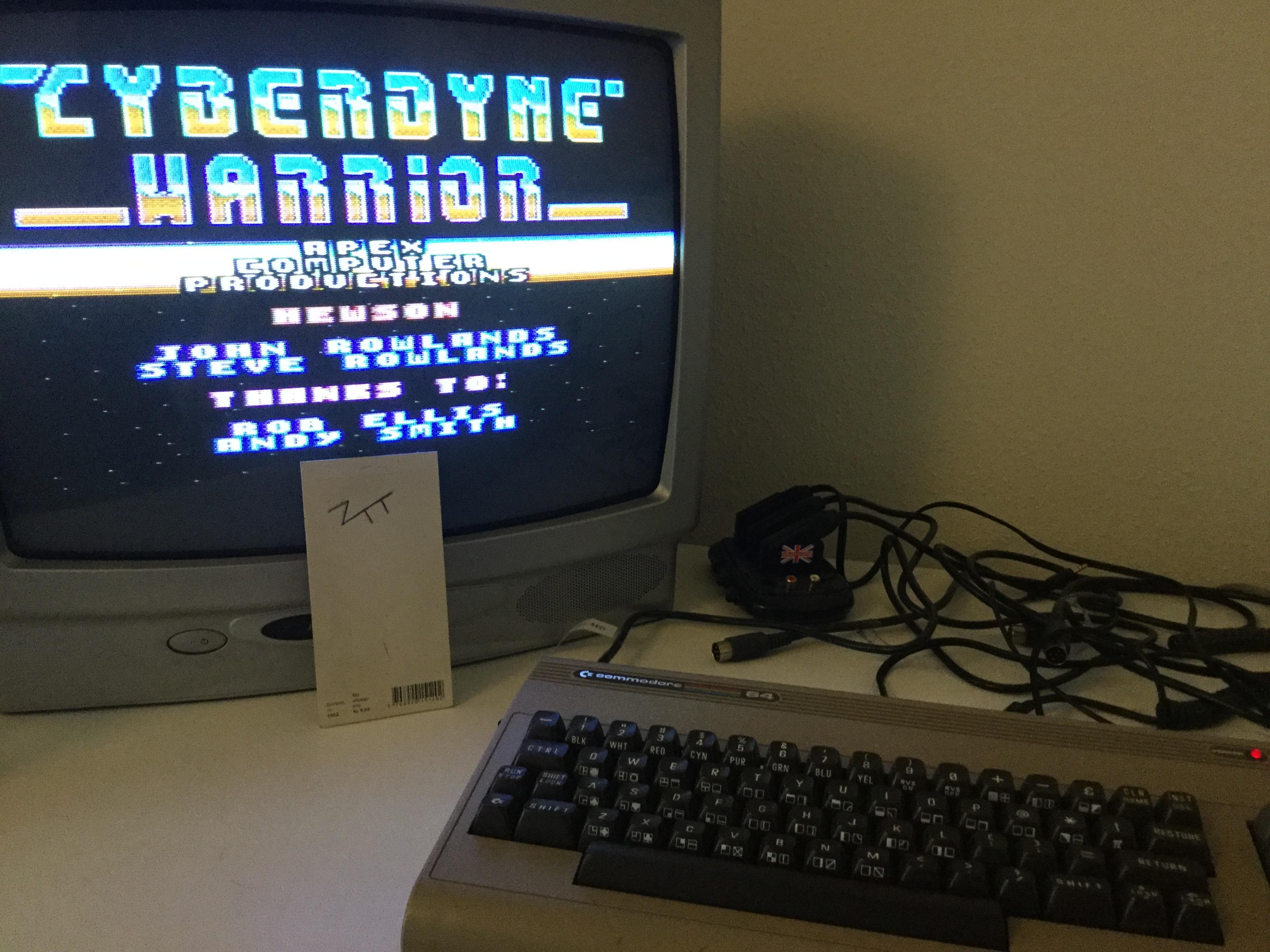 Frankie: Cyberdyne Warrior (Commodore 64) 1,850 points on 2017-04-17 11:23:19