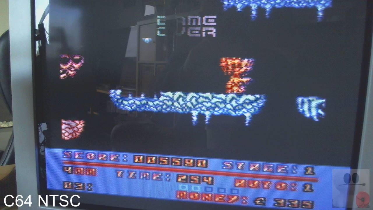 GTibel: Cyberdyne Warrior (Commodore 64) 5,590 points on 2020-02-10 06:57:21
