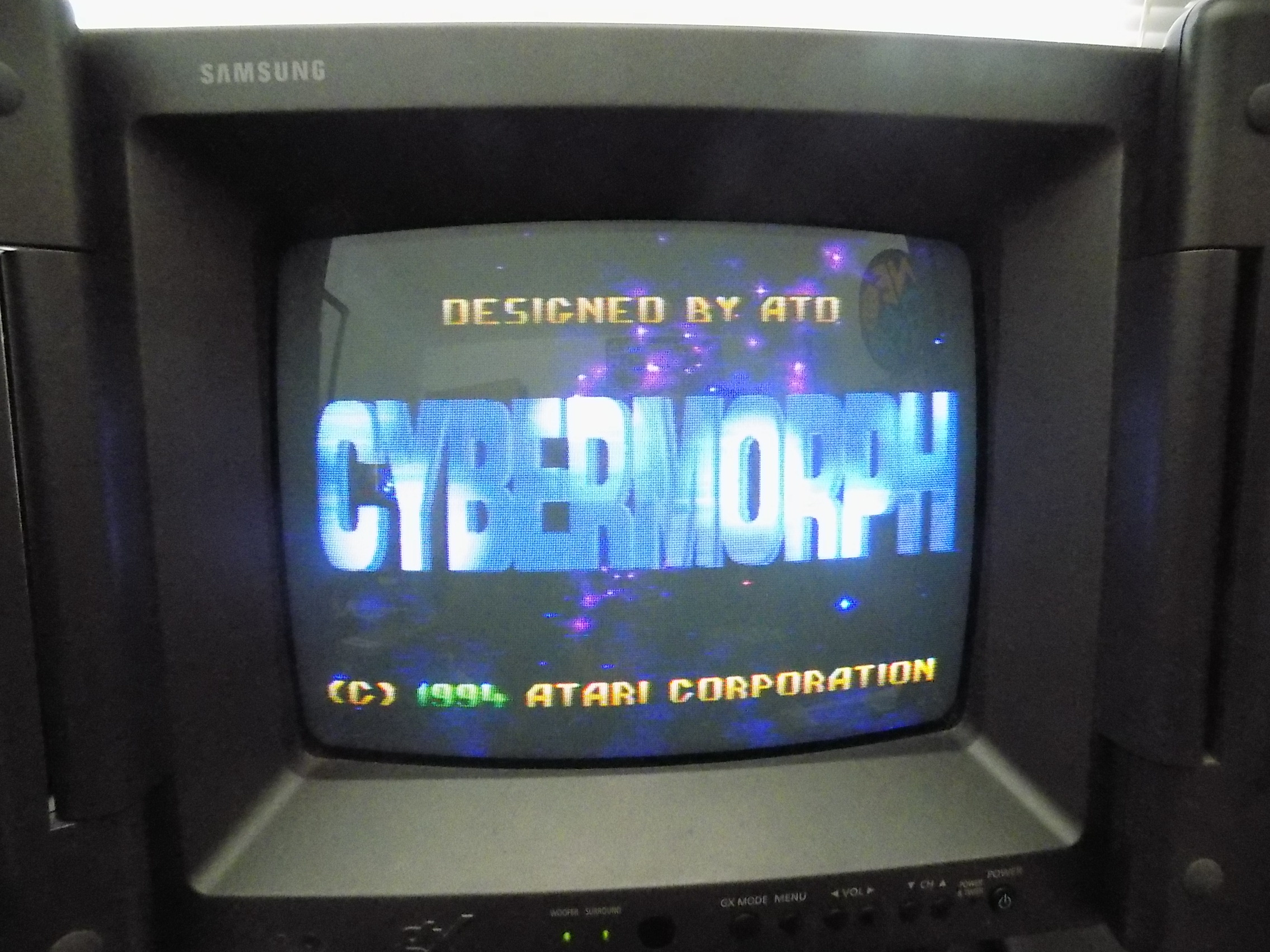 darrin9999: Cybermorph (Atari Jaguar) 31,500 points on 2019-06-14 16:02:21