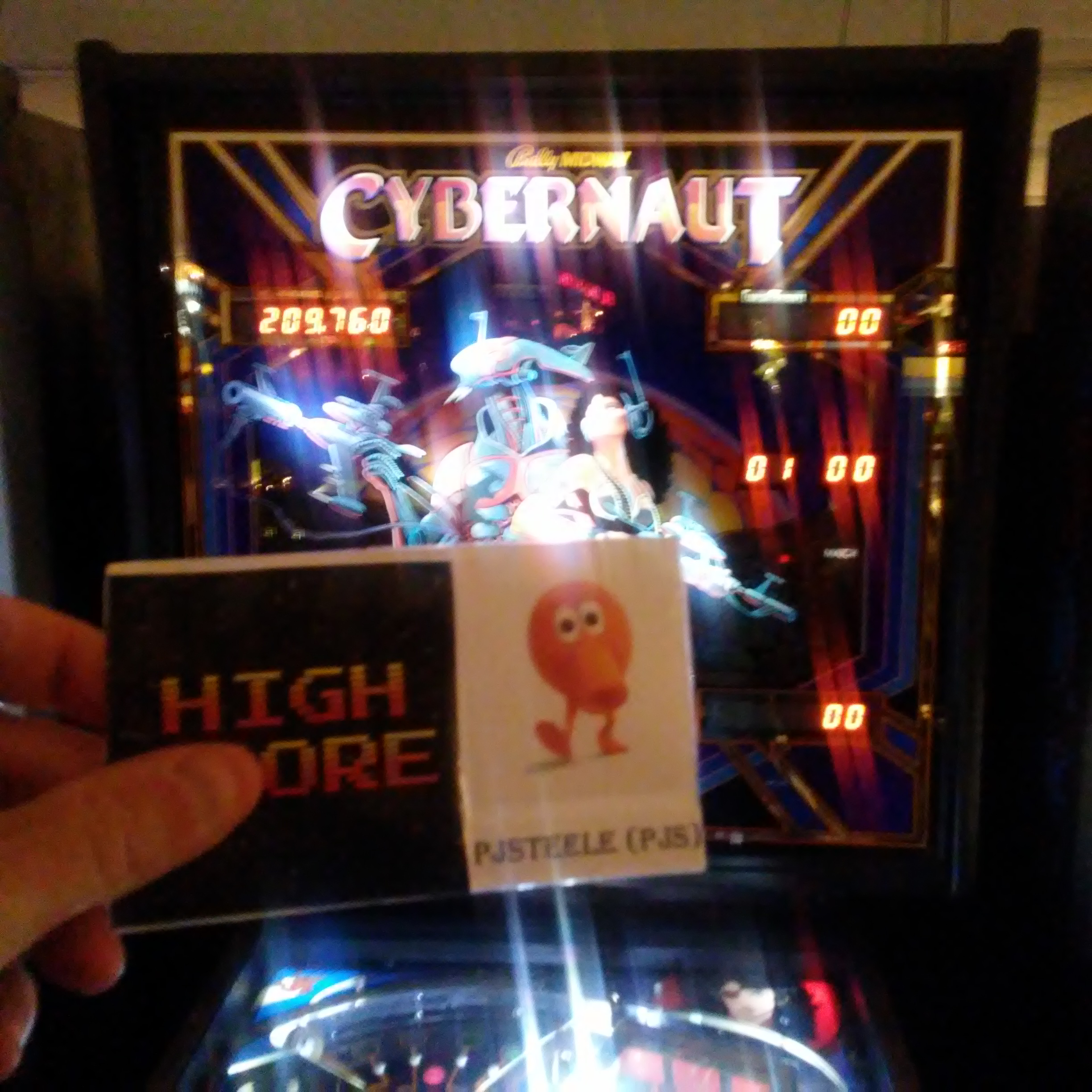 Pjsteele: Cybernaut (Pinball: 3 Balls) 209,760 points on 2017-12-31 17:44:50