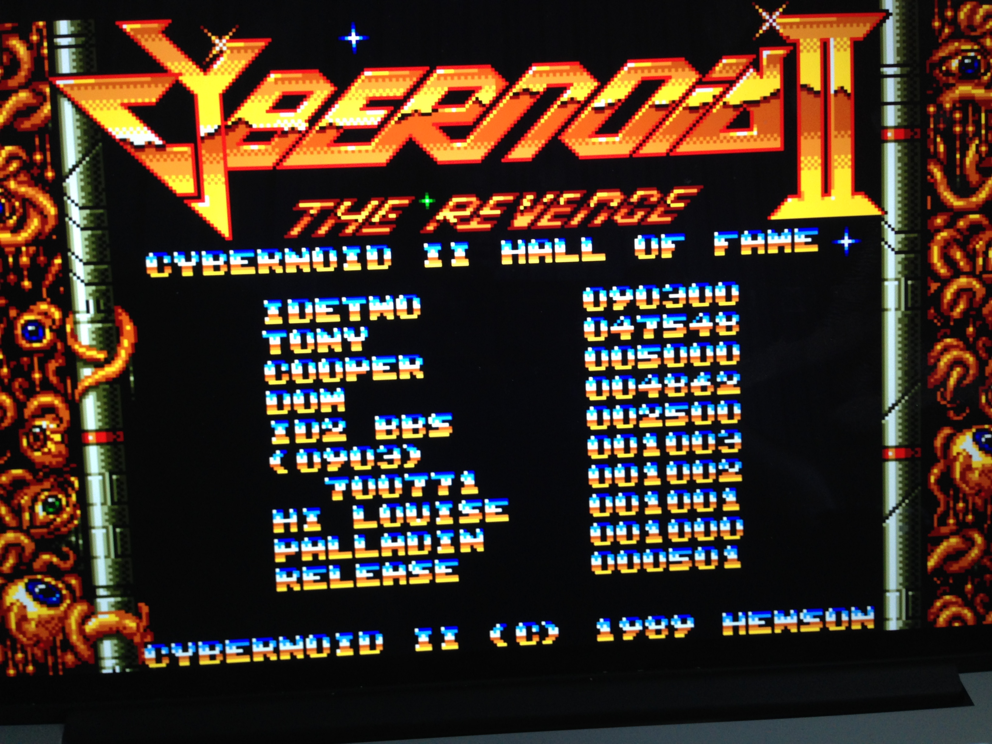 HoraceAndTheSpider: Cybernoid 2 (Amiga Emulated) 4,862 points on 2015-08-30 15:29:48