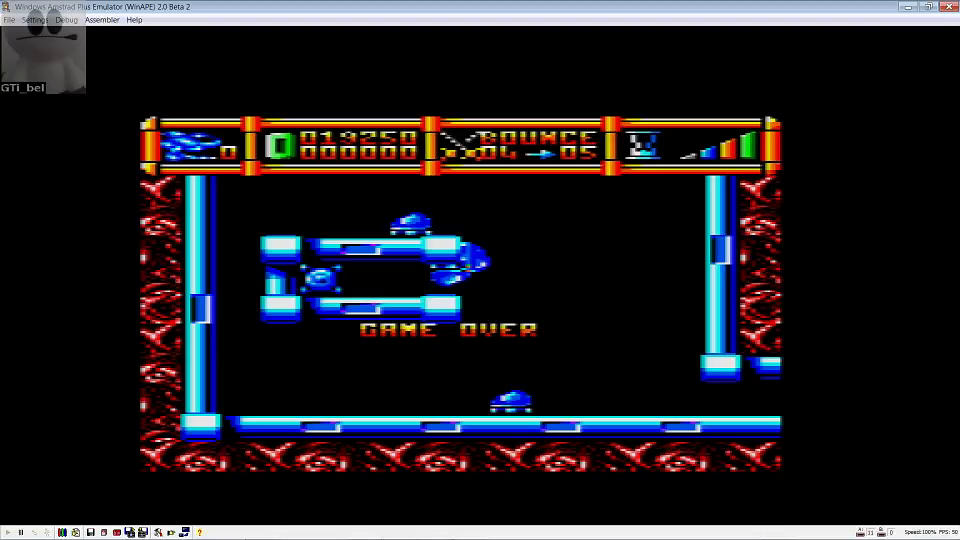 GTibel: Cybernoid 2 (Amstrad CPC Emulated) 19,250 points on 2016-06-26 09:17:54