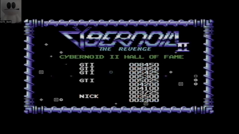 GTibel: Cybernoid 2 (Commodore 64 Emulated) 8,450 points on 2016-06-26 08:44:50