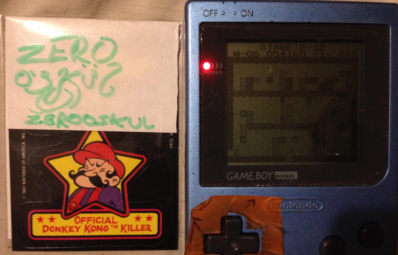 zerooskul: Cyraid (Game Boy) 54,160 points on 2019-06-25 22:18:15