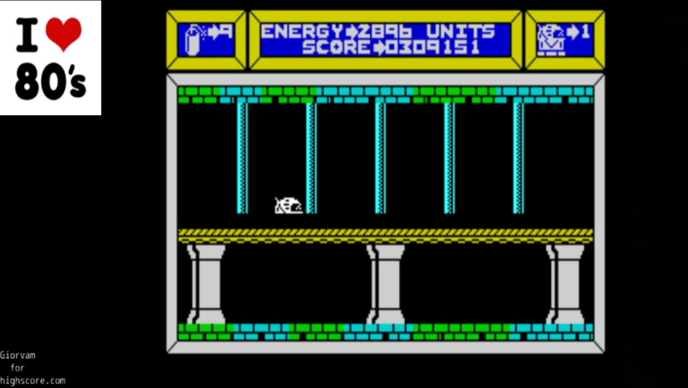 Giorvam: Cyrox (ZX Spectrum Emulated) 309,151 points on 2020-03-05 03:23:51