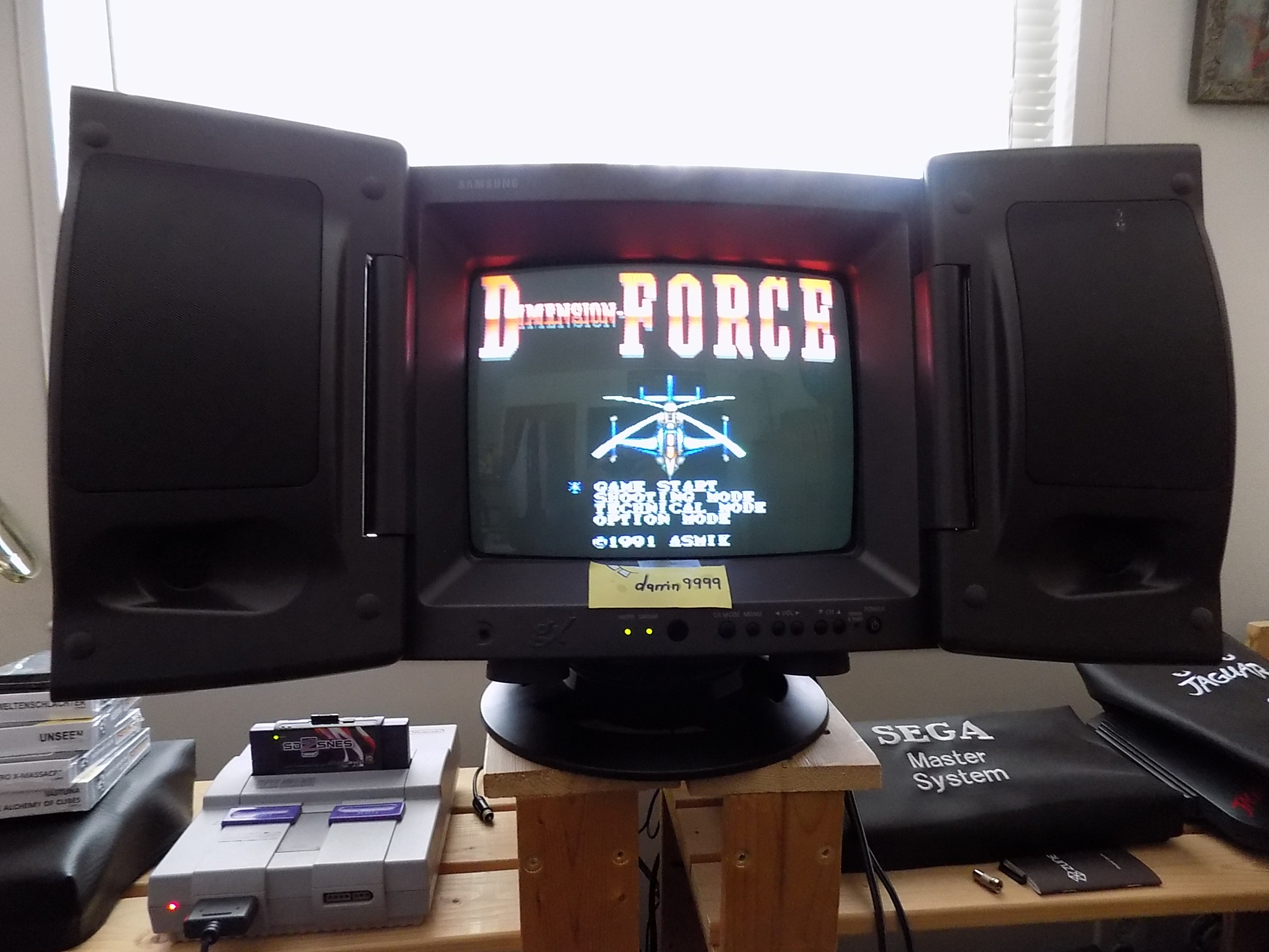 darrin9999: D-Force (SNES/Super Famicom) 43,000 points on 2019-04-14 16:21:23
