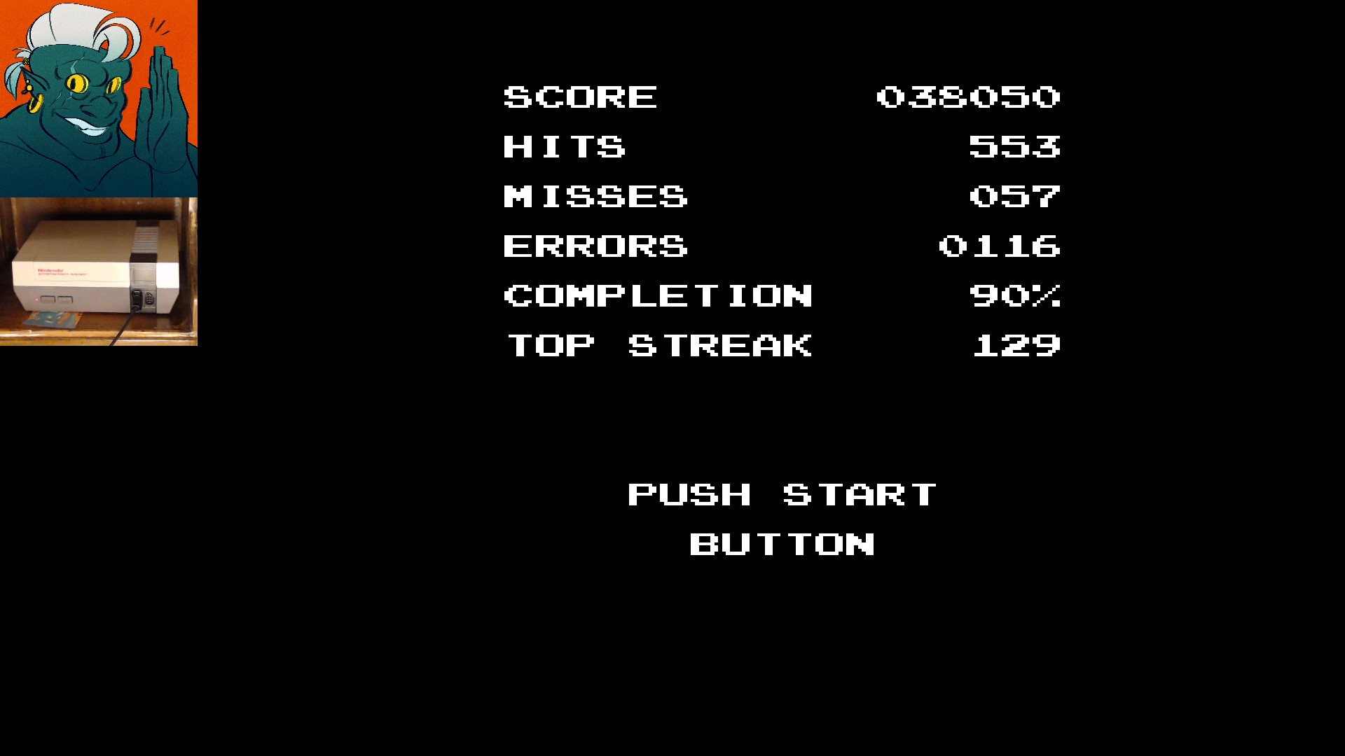 AwesomeOgre: D-Pad Hero [SWEET] (NES/Famicom) 38,050 points on 2019-11-25 08:30:13