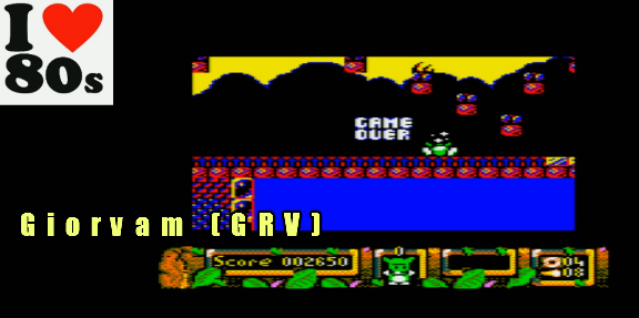 Giorvam: DJ Puff (Amstrad CPC Emulated) 2,650 points on 2018-01-16 13:18:37