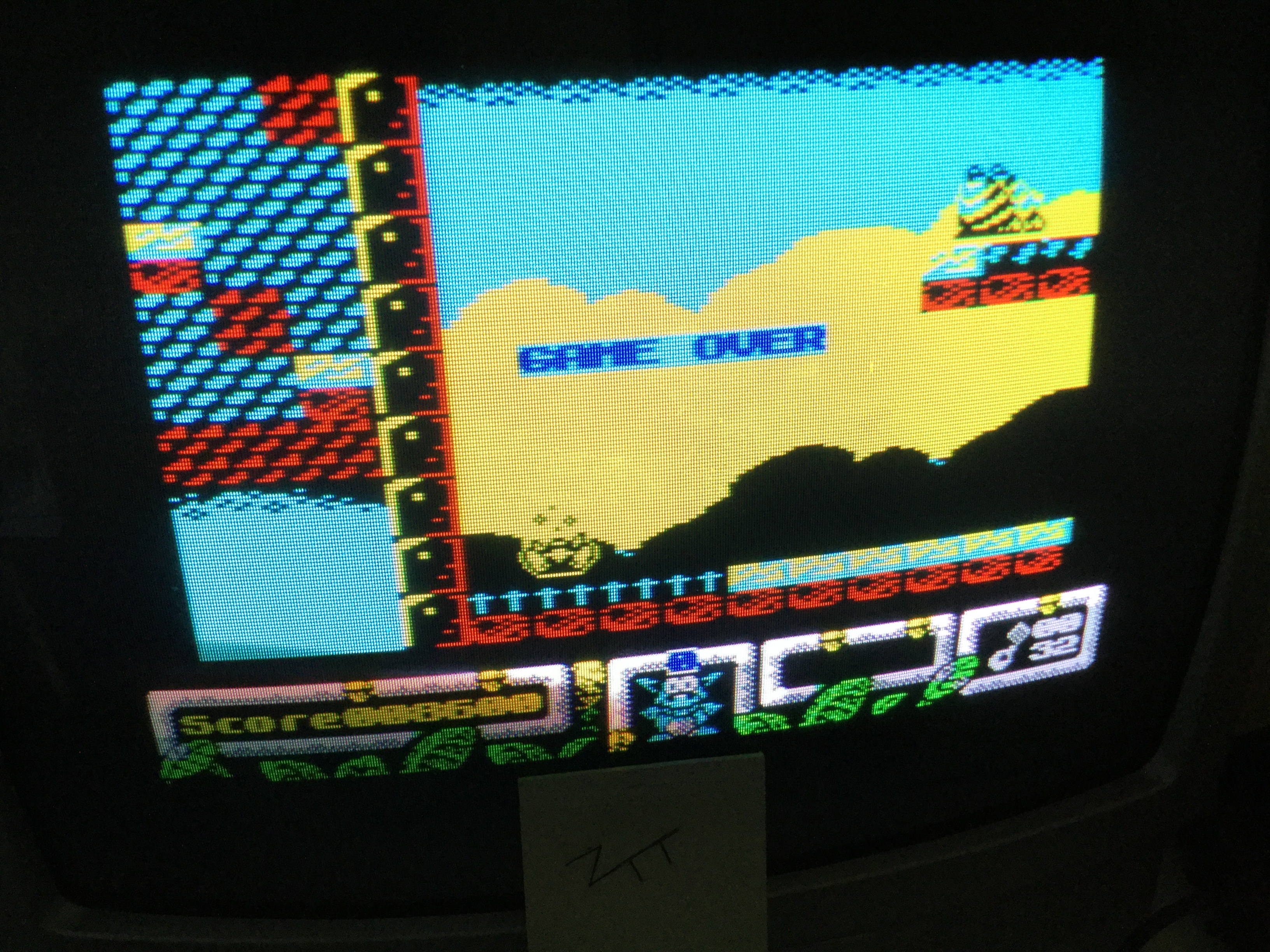 Frankie: DJ Puff (ZX Spectrum) 8,600 points on 2019-08-27 11:41:03