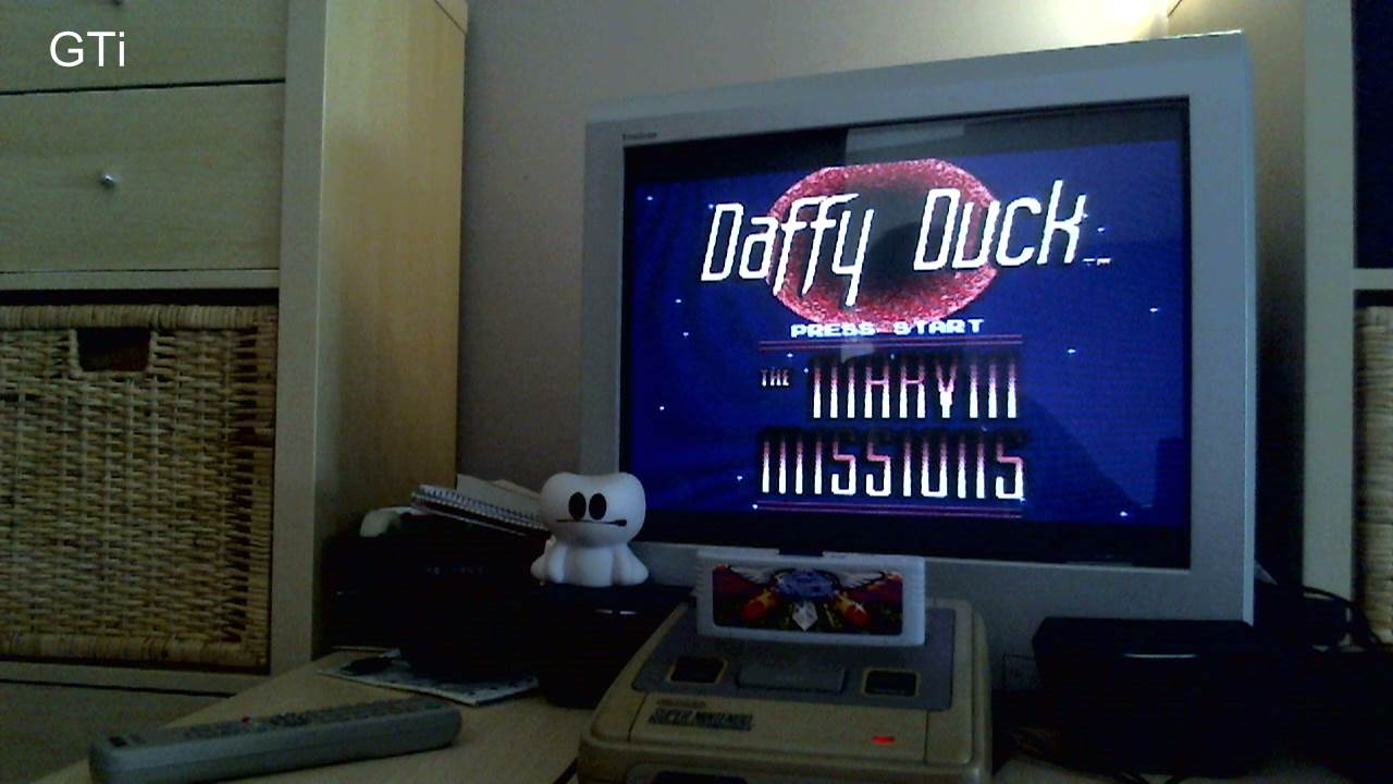 GTibel: Daffy Duck: The Marvin Missions [Normal/3 lives] (SNES/Super Famicom) 44,600 points on 2016-11-16 00:37:48