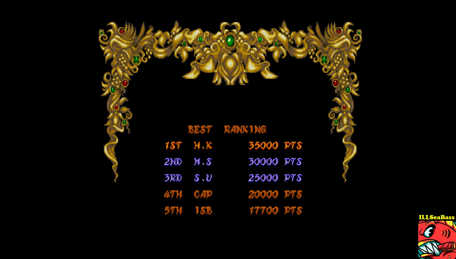 ILLSeaBass: Daimakaimura [Normal] (Sharp X68000 Emulated) 17,700 points on 2017-07-01 22:57:02