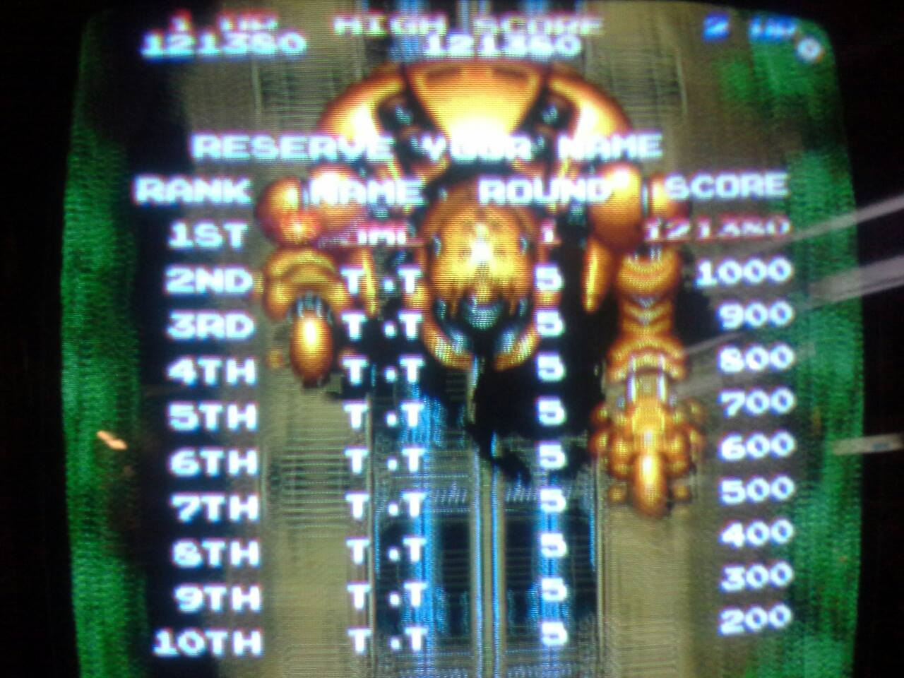 Daioh 121,380 points