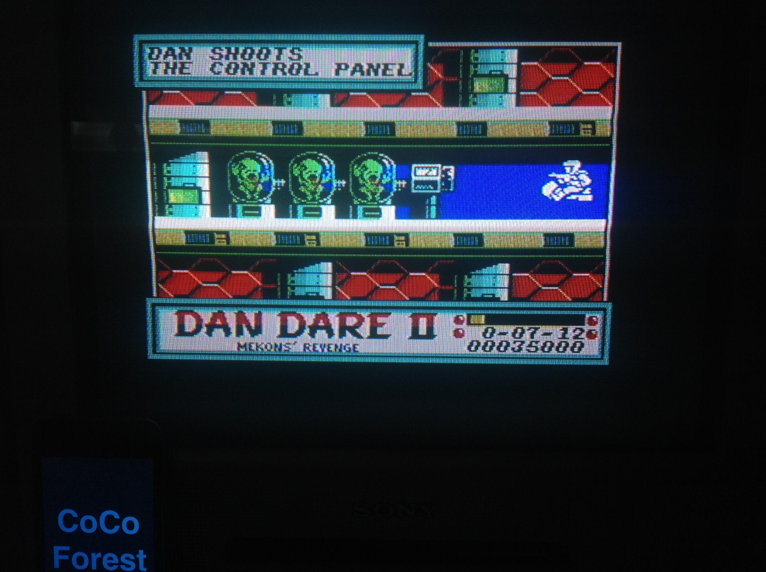 CoCoForest: Dan Dare II: Mekon