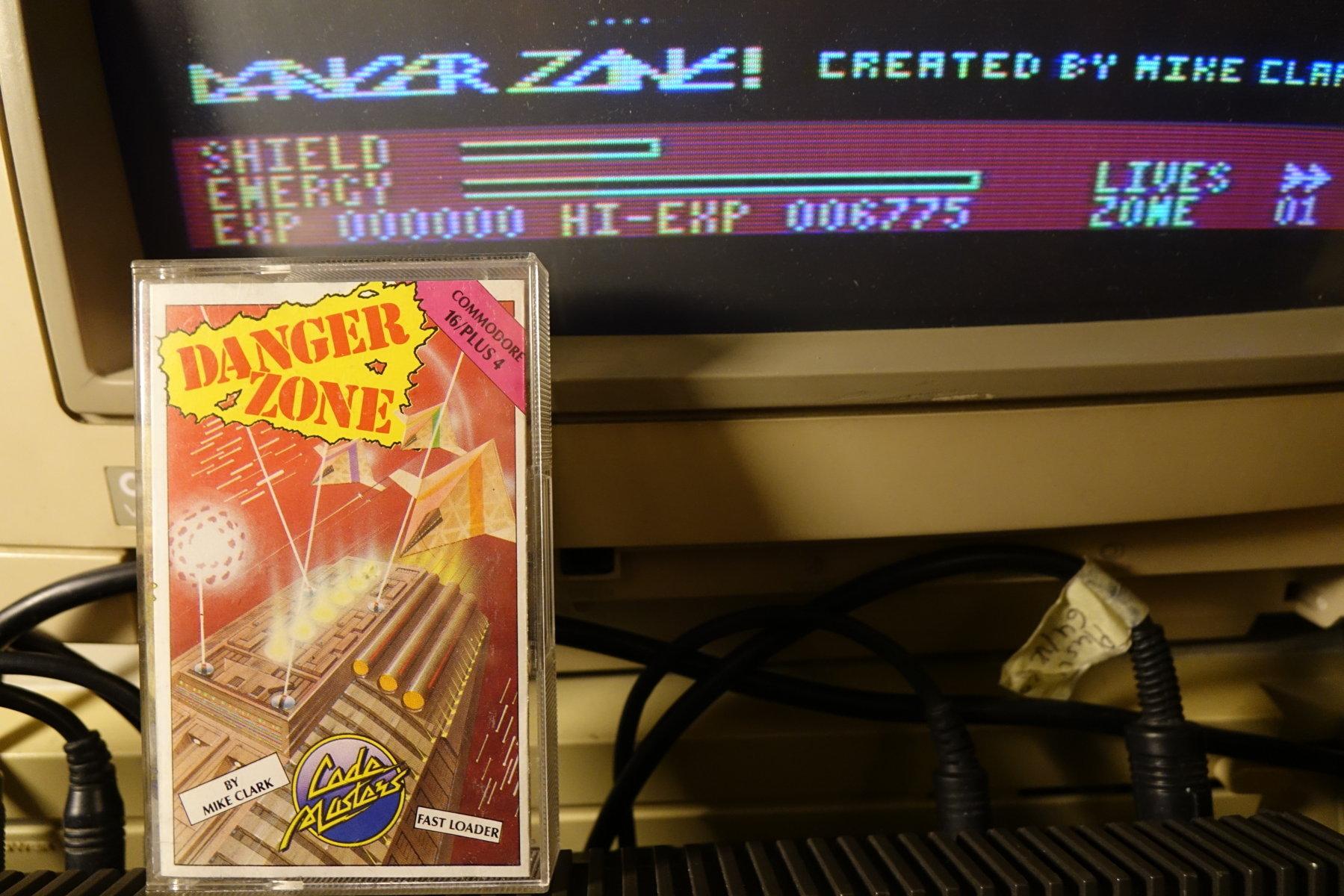 plus4punk: Danger Zone (Commodore 16/Plus4) 6,775 points on 2020-05-24 15:10:16