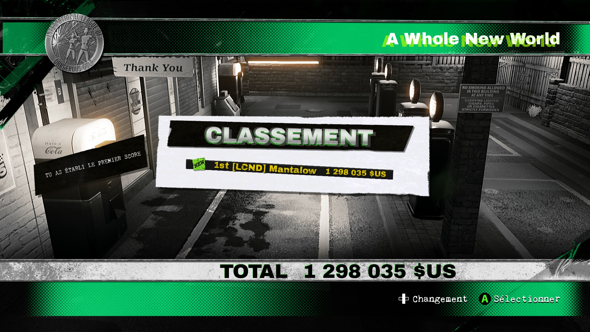 Dangerous Golf: Australia: Forecourt: A Whole New World 1,298,035 points