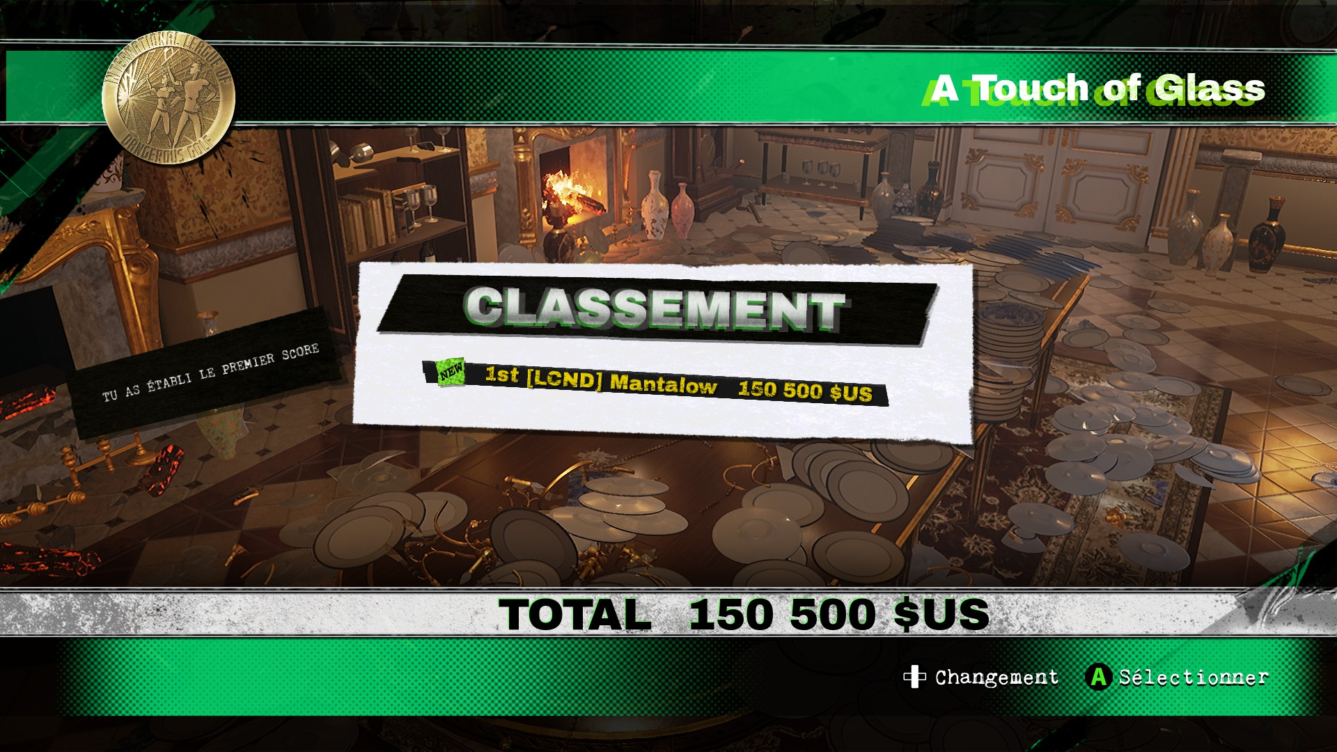 Mantalow: Dangerous Golf: France: Dining Room: A Touch of Glass (PC) 150,500 points on 2016-06-05 06:21:22
