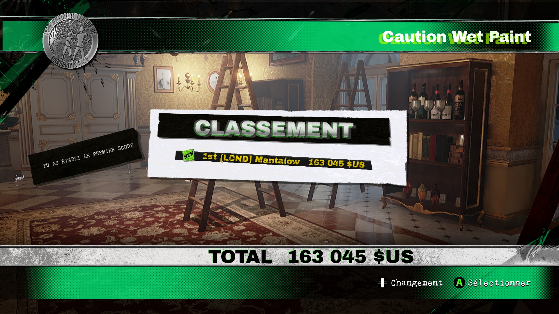 Mantalow: Dangerous Golf: France: Dining Room: Caution Wet Paint (PC) 163,045 points on 2016-06-05 06:17:56