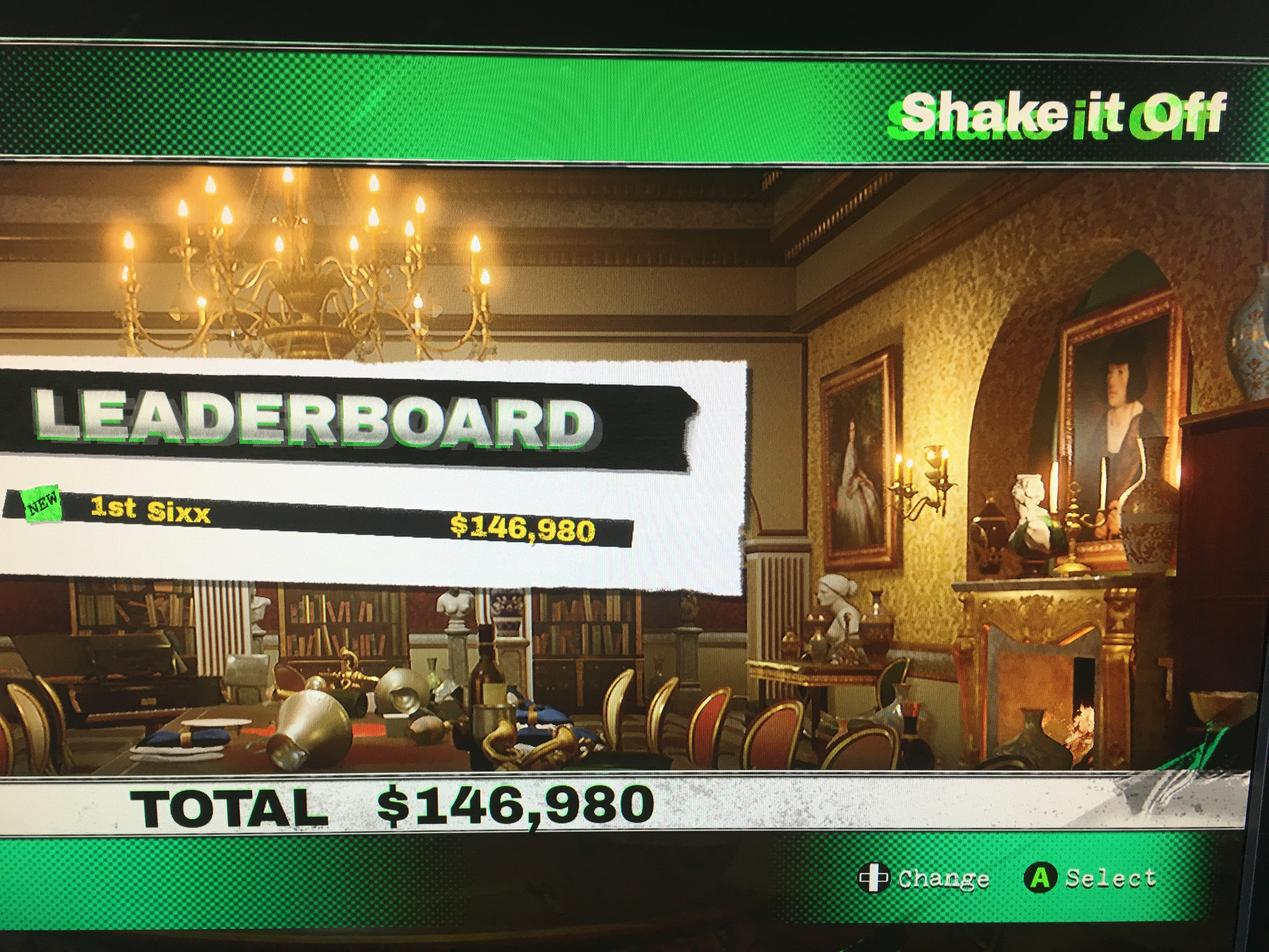 Sixx: Dangerous Golf: France: Dining Room: Shake It Off (PC) 146,980 points on 2016-06-03 15:19:50