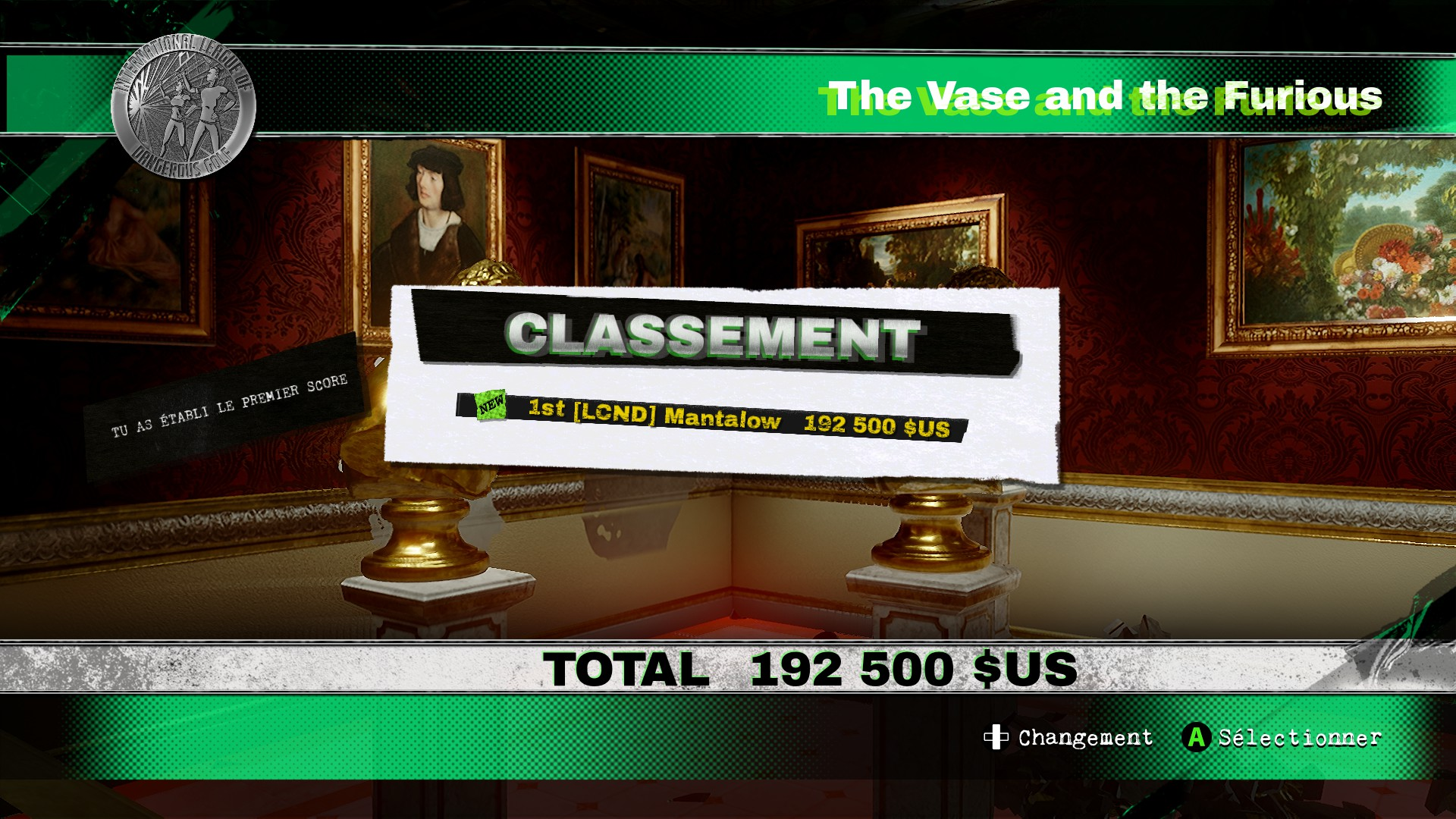 Mantalow: Dangerous Golf: France: Dining Room: The Vase and the Furious (PC) 192,500 points on 2016-06-06 16:55:46