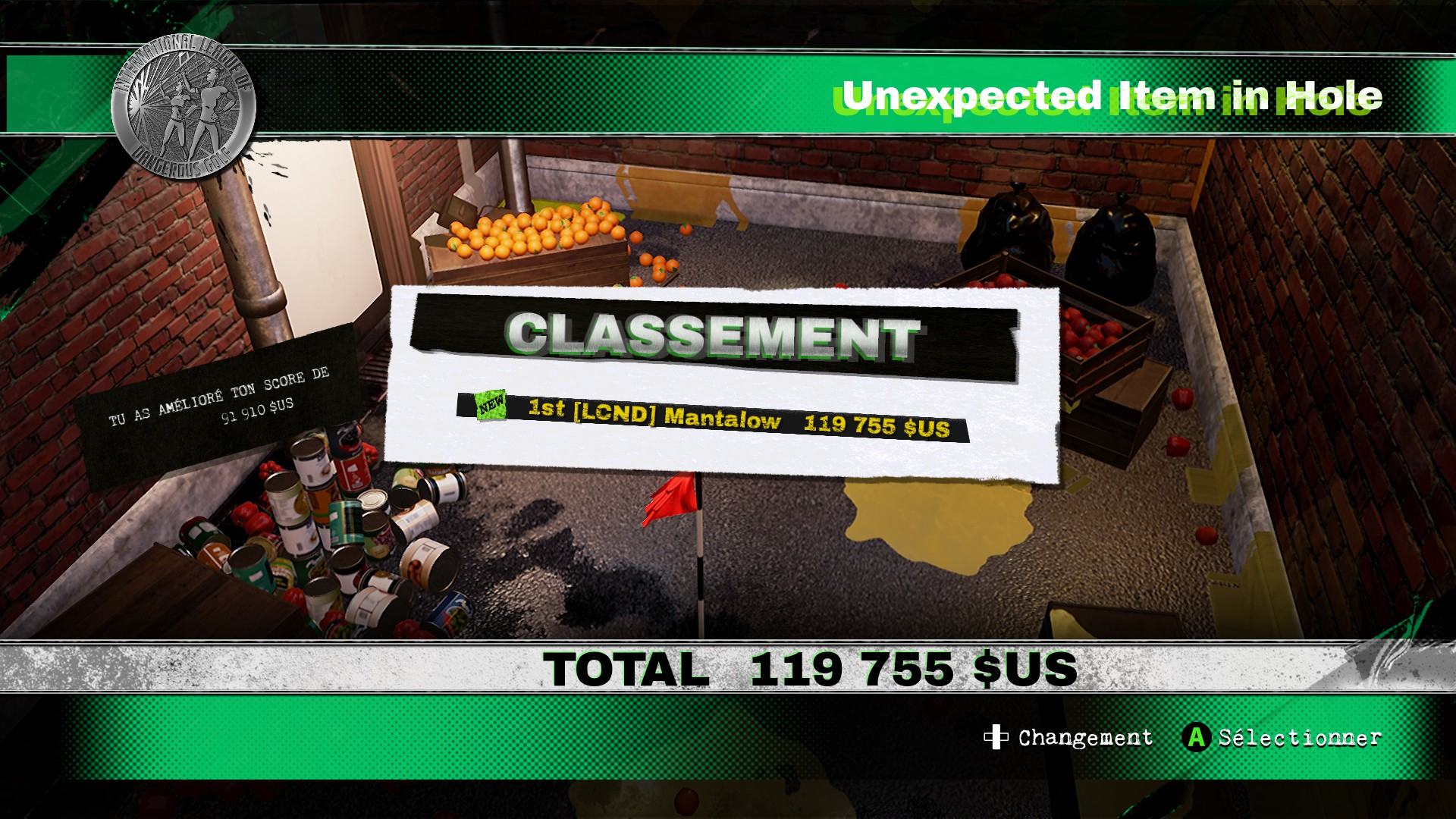 Mantalow: Dangerous Golf: United States: Back Alley: Unexpected Item in Hole (PC) 119,755 points on 2016-06-05 06:25:00