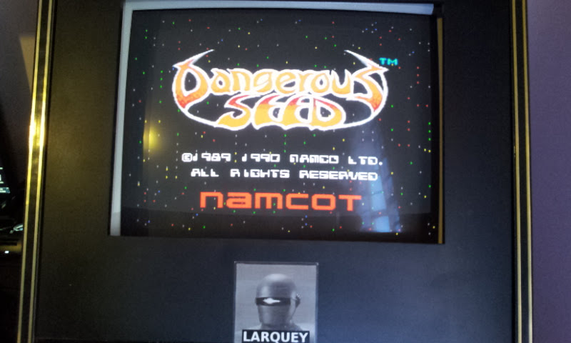 Larquey: Dangerous Seed [Hard] (Sega Genesis / MegaDrive Emulated) 80,250 points on 2018-01-26 08:58:28