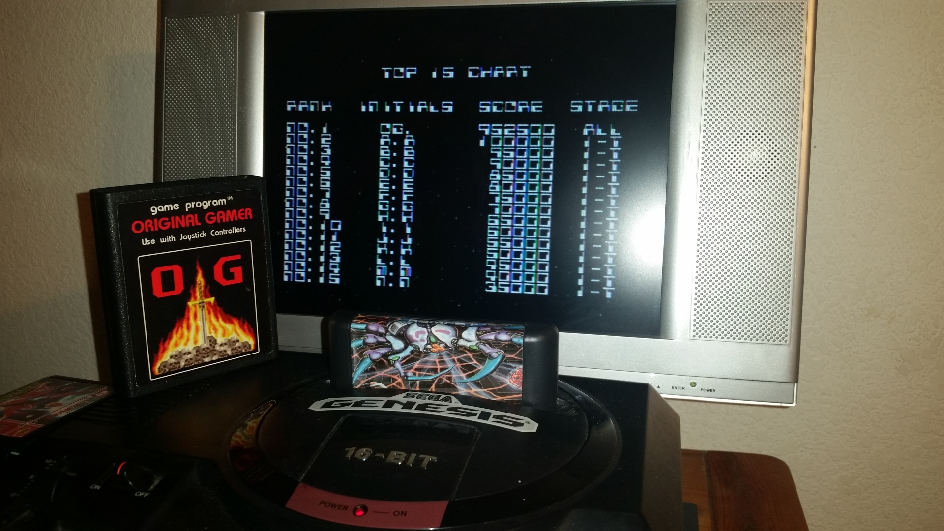 OriginalGamer: Dangerous Seed [Normal] (Sega Genesis / MegaDrive) 952,500 points on 2016-11-17 01:07:16